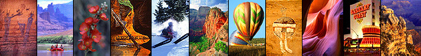 Trip planner for Arizona, Colorado, Utah, New Mexico and Las Vegas.  Hotels, golf and ski vacations, hiking trails, camping and more.