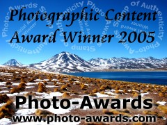 Air-water-land photogalleries is a proud winner of the Photo-Awards Photographic Content Award.